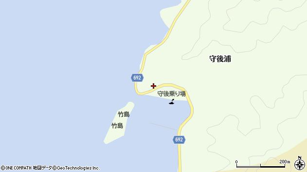 大分県佐伯市守後浦829周辺の地図
