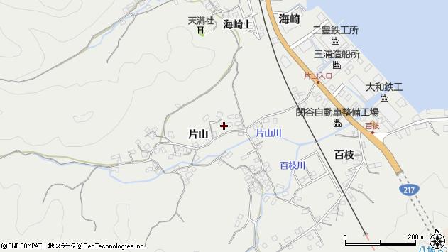 大分県佐伯市海崎1048周辺の地図