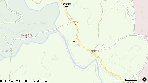 大分県竹田市植木910周辺の地図