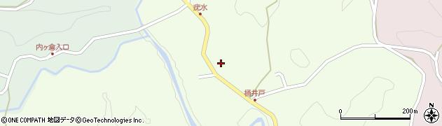 大分県竹田市植木897周辺の地図