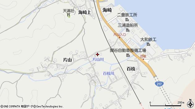 大分県佐伯市海崎869周辺の地図