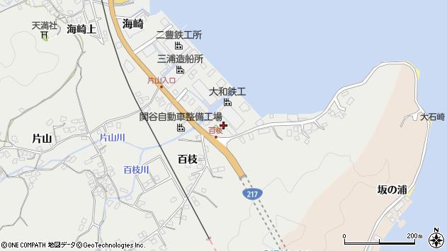 大分県佐伯市海崎190周辺の地図