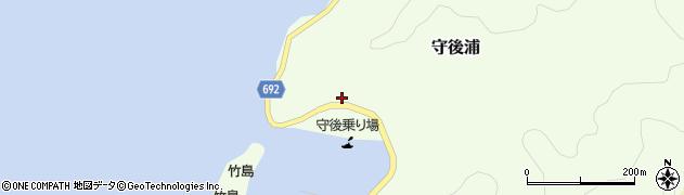 大分県佐伯市守後浦847周辺の地図
