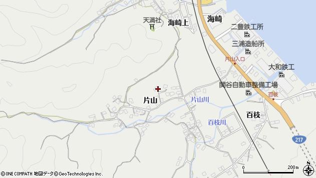 大分県佐伯市海崎1056周辺の地図