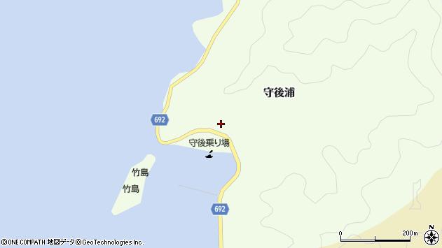 大分県佐伯市守後浦854周辺の地図