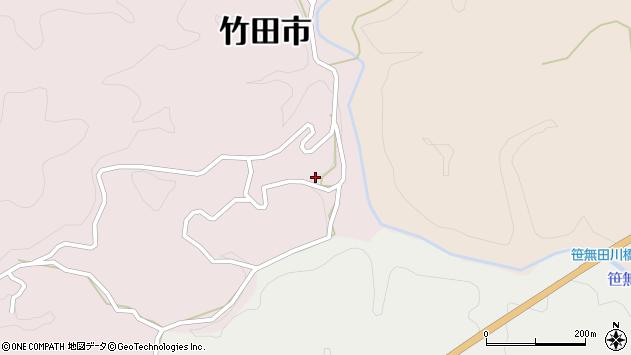 大分県竹田市枝1933周辺の地図
