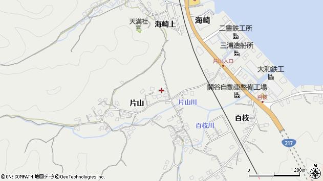 大分県佐伯市海崎1052周辺の地図