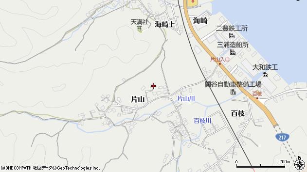 大分県佐伯市海崎1053周辺の地図