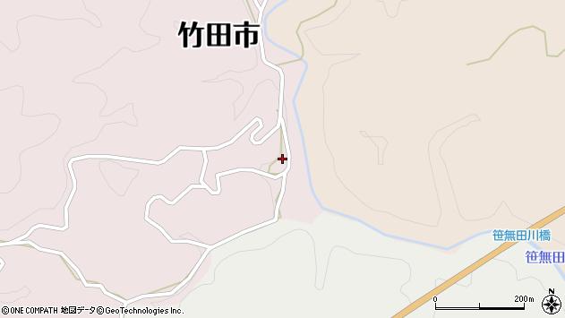 大分県竹田市枝1922周辺の地図