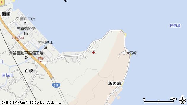 大分県佐伯市海崎74周辺の地図