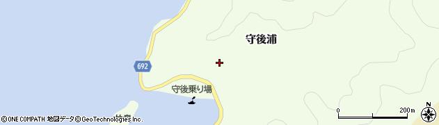大分県佐伯市守後浦871周辺の地図