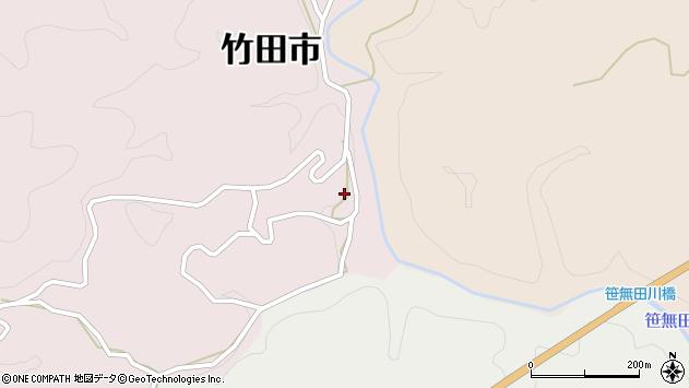 大分県竹田市枝1925周辺の地図