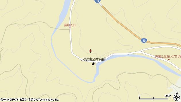 大分県佐伯市弥生大字尺間備後周辺の地図