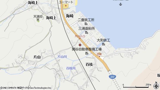 大分県佐伯市海崎846周辺の地図