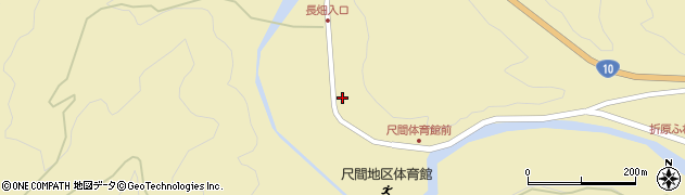 大分県佐伯市弥生大字尺間499周辺の地図