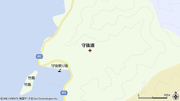 大分県佐伯市守後浦933周辺の地図