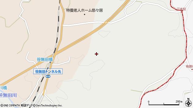大分県竹田市挟田2758周辺の地図
