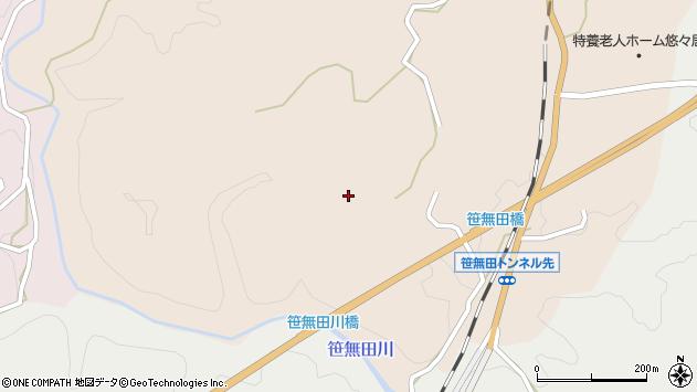 大分県竹田市三宅1923周辺の地図