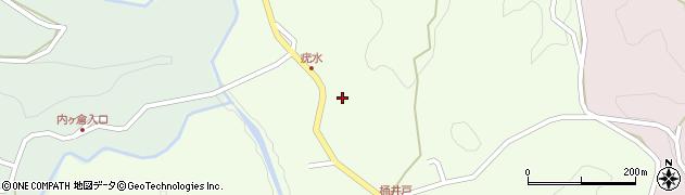 大分県竹田市植木916周辺の地図