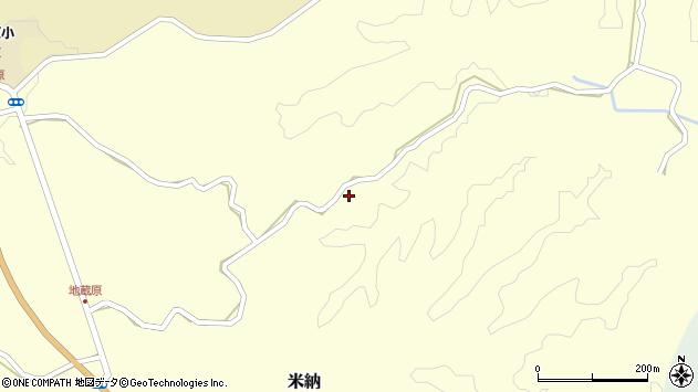 大分県竹田市米納2556周辺の地図