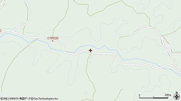 大分県竹田市平田5238周辺の地図