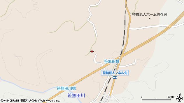 大分県竹田市三宅1964周辺の地図