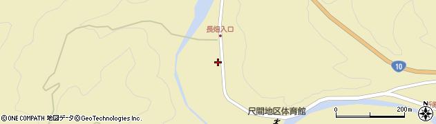 大分県佐伯市弥生大字尺間624周辺の地図