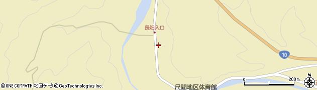 大分県佐伯市弥生大字尺間488周辺の地図