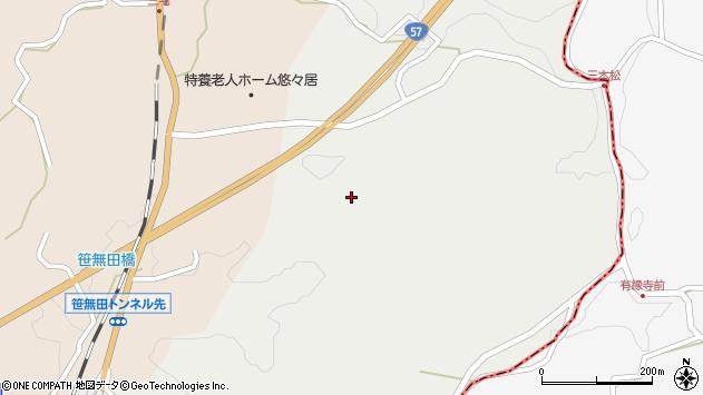 大分県竹田市挟田2740周辺の地図