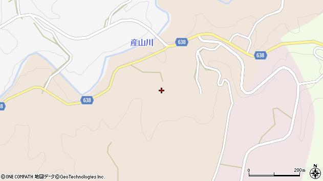 大分県竹田市久住町大字添ケ津留164周辺の地図