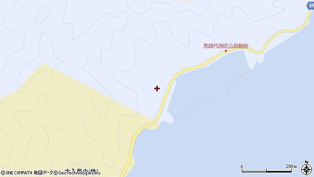 大分県佐伯市荒網代浦904周辺の地図