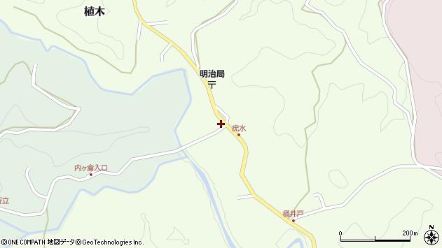 大分県竹田市植木1915周辺の地図