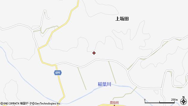 大分県竹田市上坂田440周辺の地図