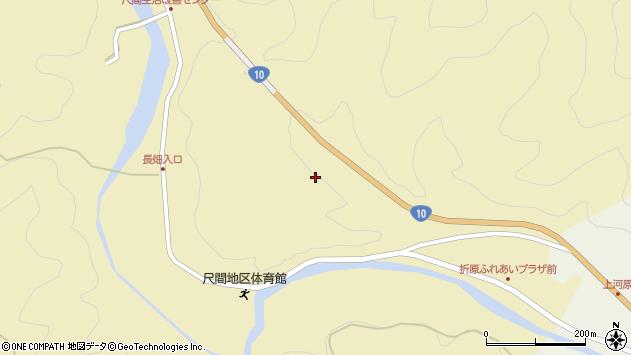 大分県佐伯市弥生大字尺間270周辺の地図