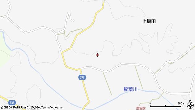 大分県竹田市上坂田477周辺の地図