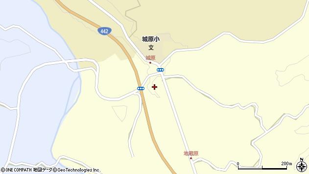 大分県竹田市米納周辺の地図