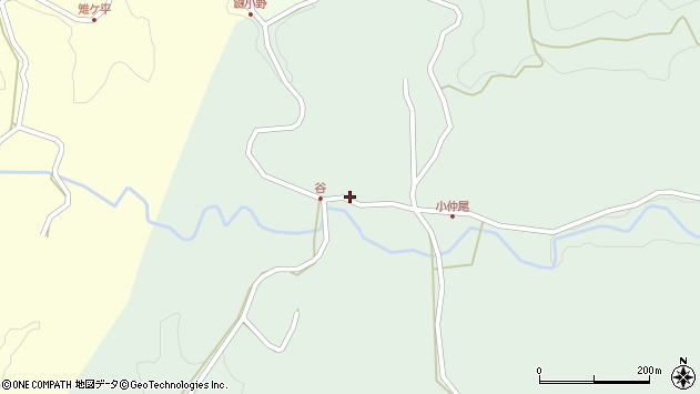 大分県竹田市平田4757周辺の地図