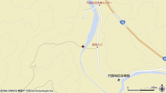 大分県佐伯市弥生大字尺間3180周辺の地図