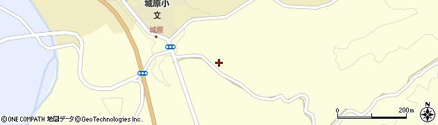 大分県竹田市米納2704周辺の地図