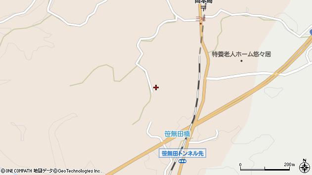 大分県竹田市三宅2149周辺の地図