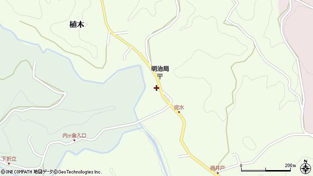 大分県竹田市植木1928周辺の地図