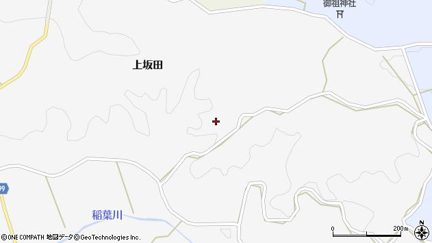 大分県竹田市上坂田796周辺の地図