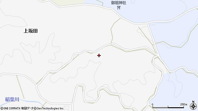 大分県竹田市上坂田861周辺の地図