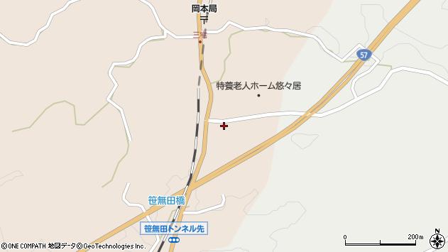 大分県竹田市三宅1772周辺の地図