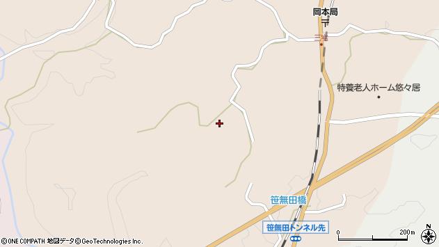 大分県竹田市三宅2162周辺の地図
