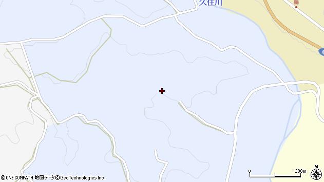 大分県竹田市下坂田890周辺の地図
