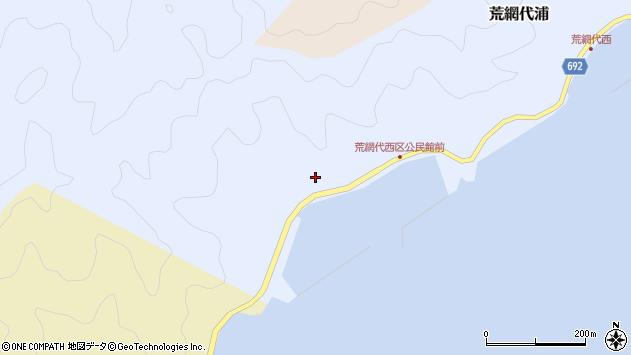 大分県佐伯市荒網代浦635周辺の地図