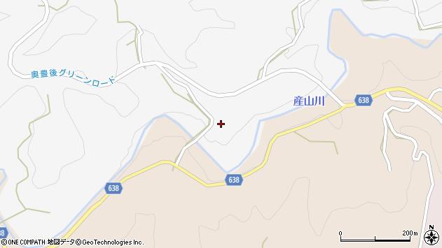 大分県竹田市久住町大字白丹5923周辺の地図