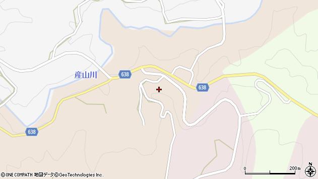 大分県竹田市久住町大字添ケ津留米賀周辺の地図