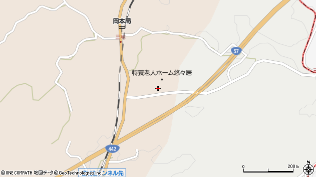 大分県竹田市三宅1763周辺の地図